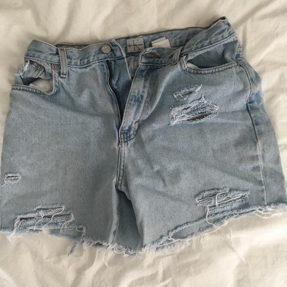 Calvin Klein Jeans Pants - Denim shorts